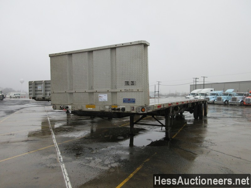 USED 2006 UTILITY 48' COMBO FLATBED TRAILER #49956