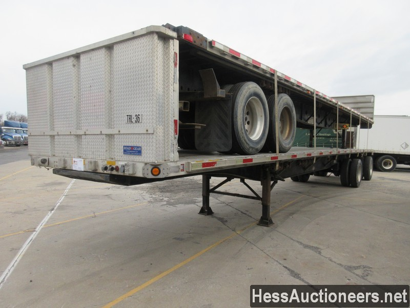 USED 2006 UTILITY 48' FS2CHA FLATBED TRAILER #49957