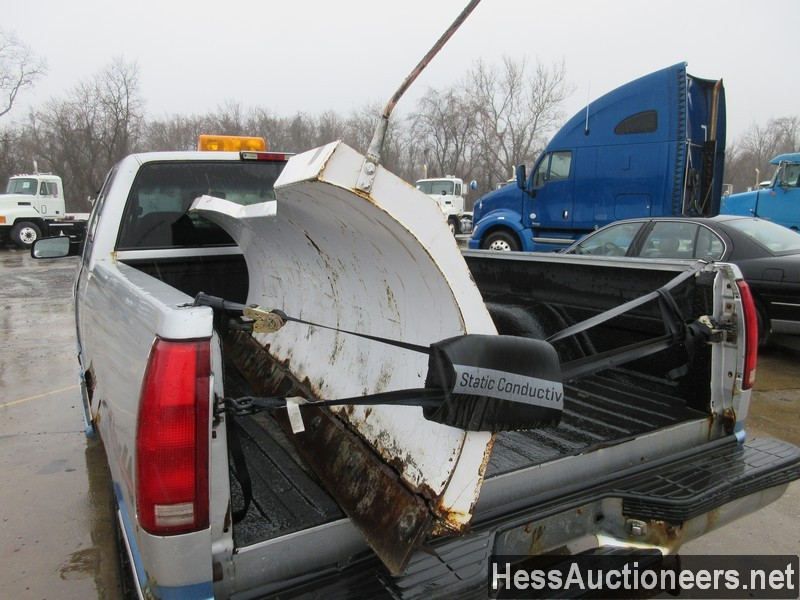 USED 1997 CHEVROLET 1500 4WD 1/2 TON PICKUP TRUCK TRAILER #50037-21