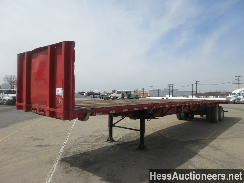 USED 2000 FONTAINE 48' FLATBED TRAILER #50321