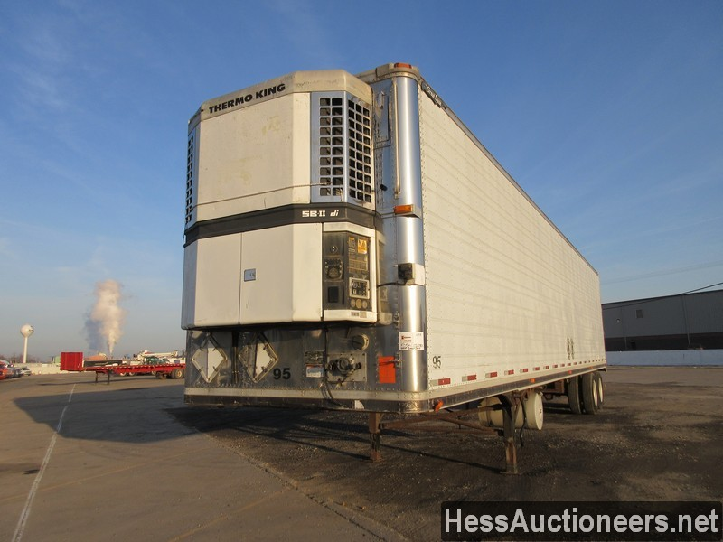USED 1995 GREAT DANE 48' REEFER TRAILER #50541