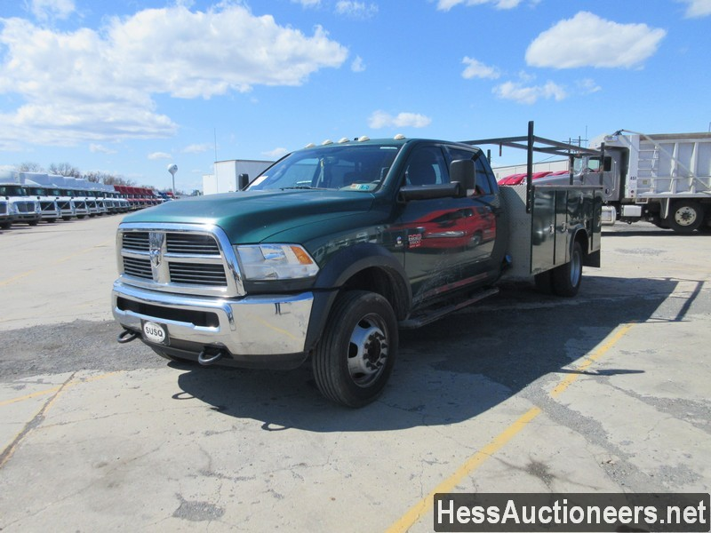 USED 2012 DODGE RAM 5500 SERVICE - UTILITY TRUCK TRAILER #50627