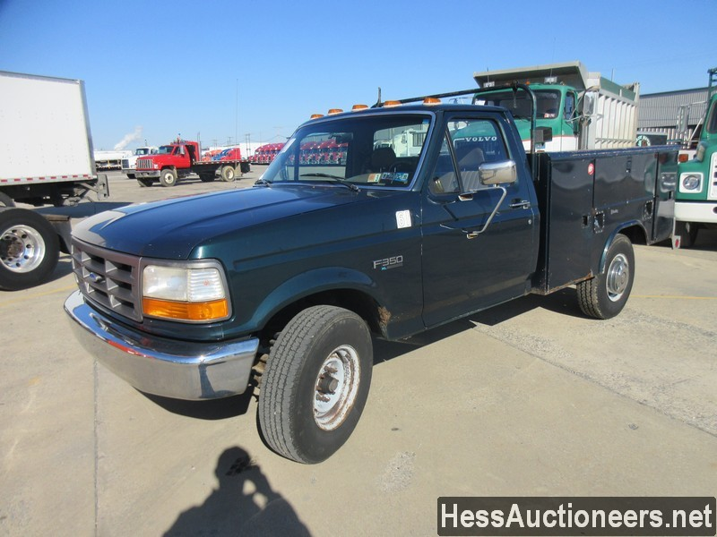 USED 1995 FORD F350 SERVICE - UTILITY TRUCK TRAILER #50644
