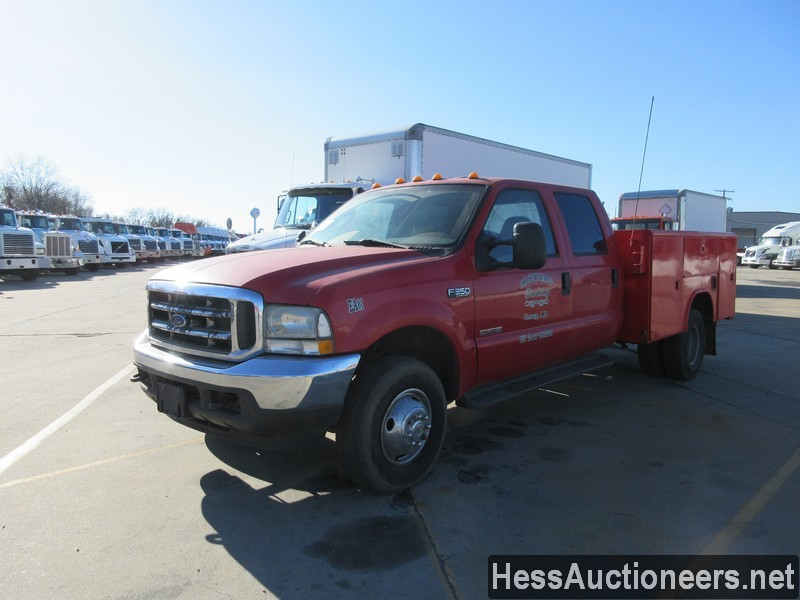 USED 2005 FORD F350 SERVICE - UTILITY TRUCK TRAILER #50679