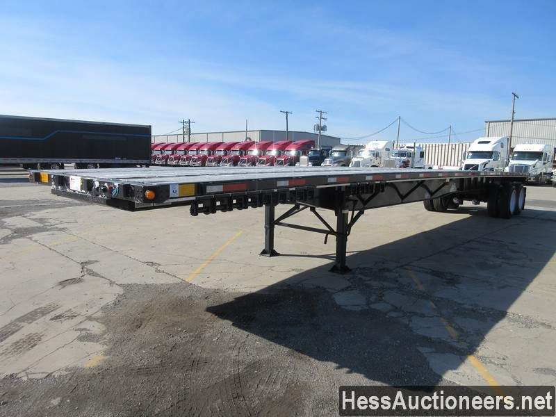 USED 2019 UTILITY 48' FLATBED TRAILER #50710