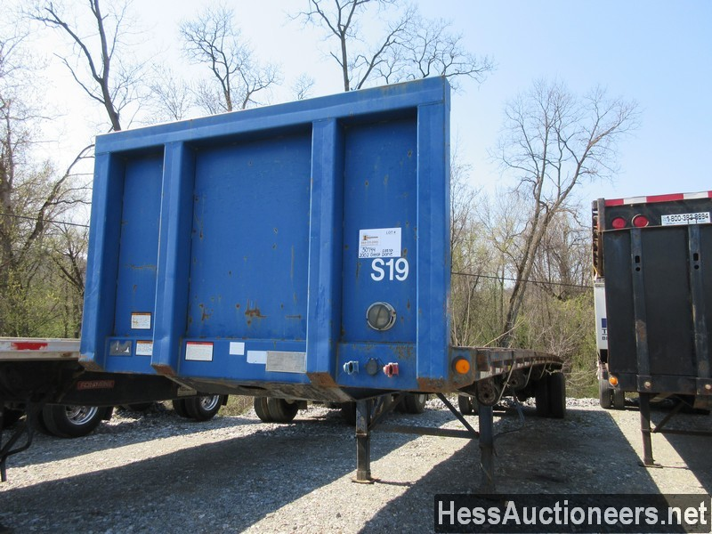 USED 2002 GREAT DANE FLATBED FLATBED TRAILER #50744