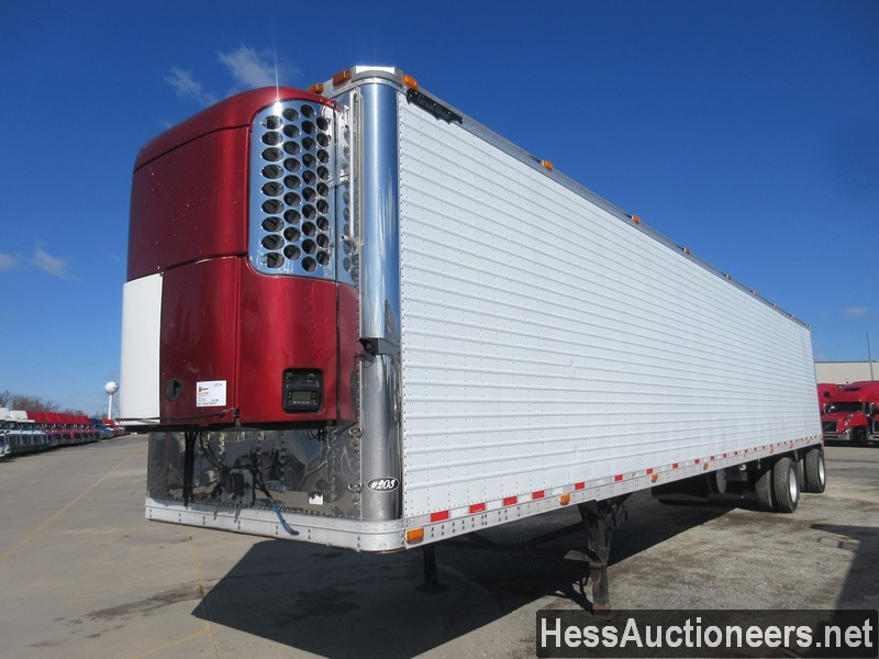 USED 2007 GREAT DANE 53' REEFER TRAILER #50780