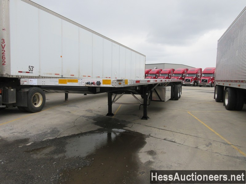 USED 2020 UTILITY FS2CHA FLATBED TRAILER #50887