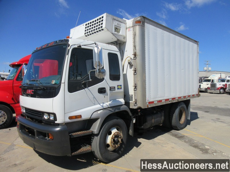 USED 2006 GMC TT6500 REEFER TRUCK TRAILER #50898