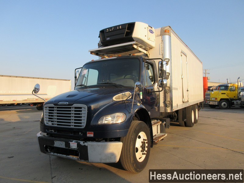 USED 2014 FREIGHTLINER M2 106 REEFER TRUCK TRAILER #50979