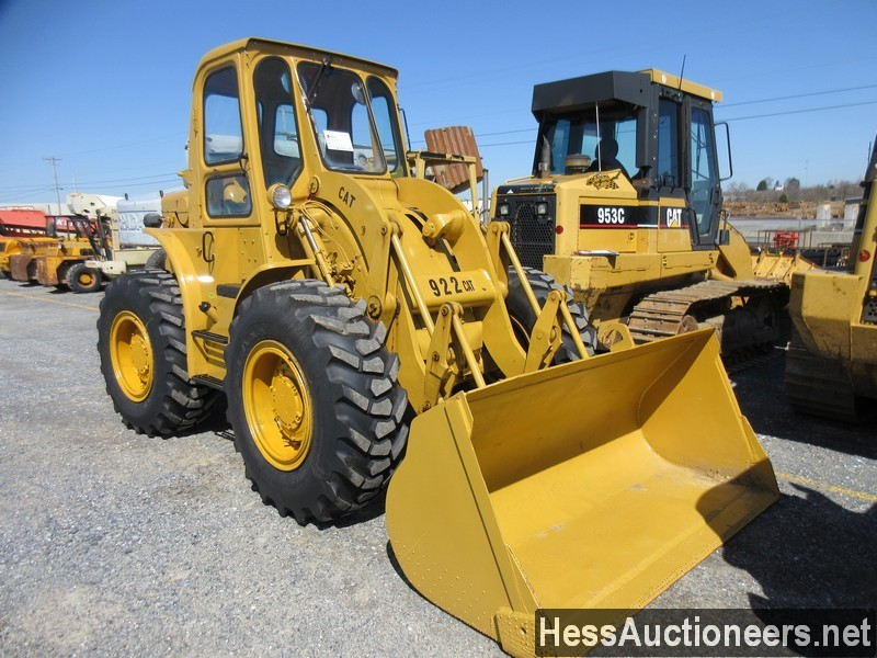 USED 1960 CAT 922 WHEEL LOADER EQUIPMENT #51075-1