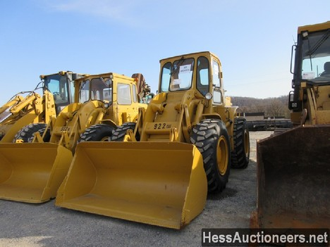 USED 1960 CAT 922 WHEEL LOADER EQUIPMENT #51075-13