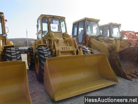 USED 1960 CAT 922 WHEEL LOADER EQUIPMENT #51075-14