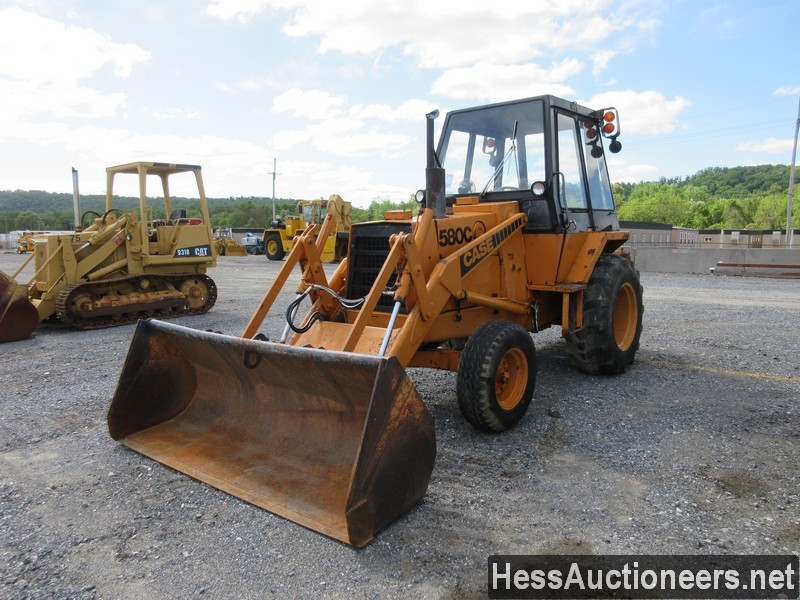 USED 1987 CASE 580-C WHEEL LOADER EQUIPMENT #51224