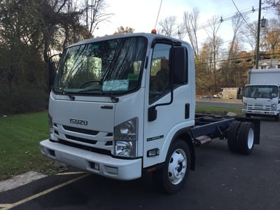 NEW 2018 ISUZU NPR-HD GAS CAB CHASSIS TRUCK #1168-1