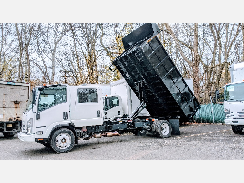 NEW 2018 ISUZU NPR-HD GAS CAB CHASSIS TRUCK #1185