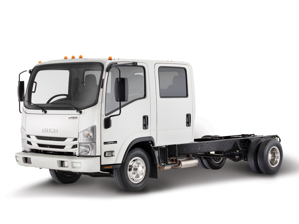 NEW 2018 ISUZU NPR-HD GAS CAB CHASSIS TRUCK #1191