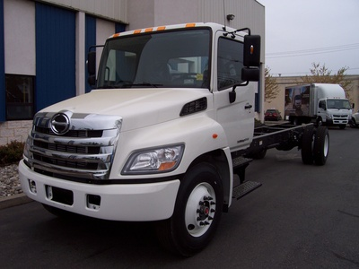 NEW 2018 HINO 268A CAB CHASSIS TRUCK #1011-1