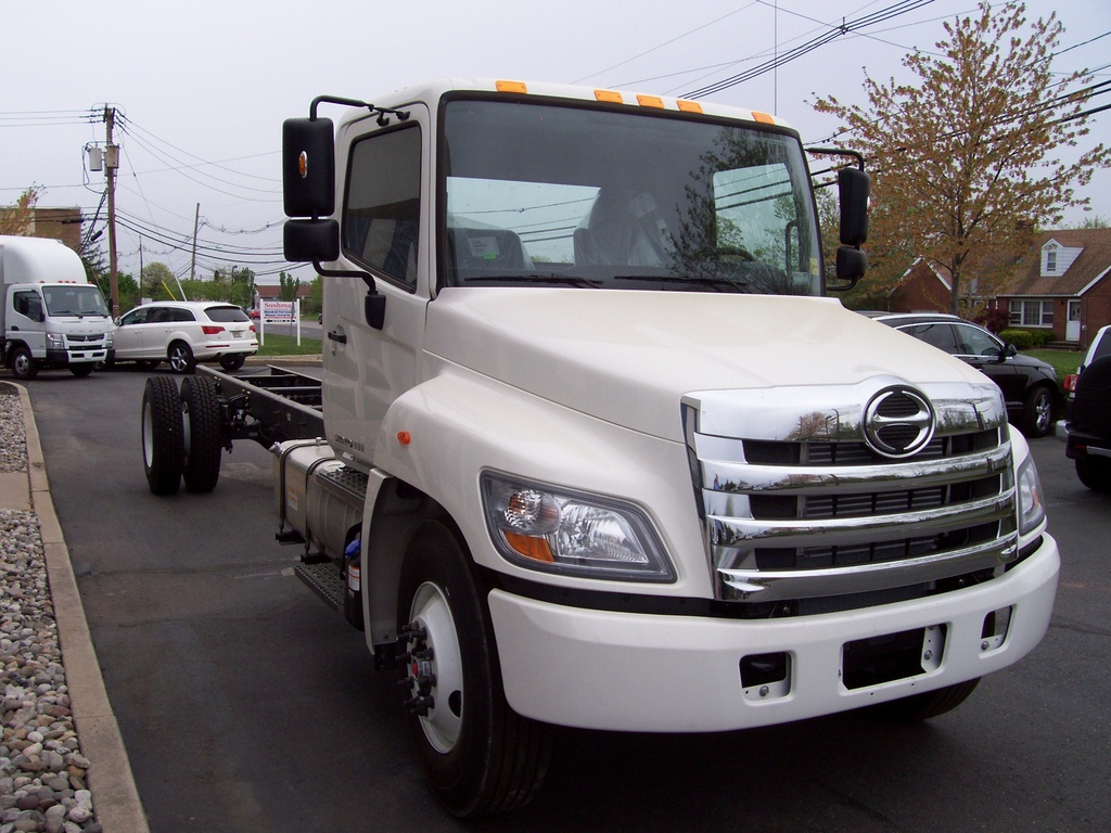 NEW 2018 HINO 268A CAB CHASSIS TRUCK #1012