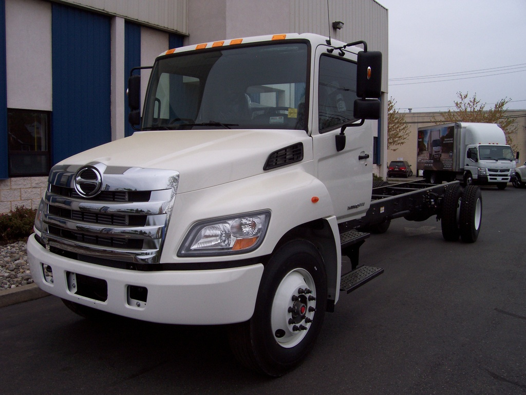 NEW 2018 HINO 268A CAB CHASSIS TRUCK #1013
