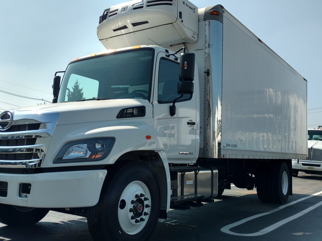 NEW 2018 HINO 268A REEFER TRUCK #1015
