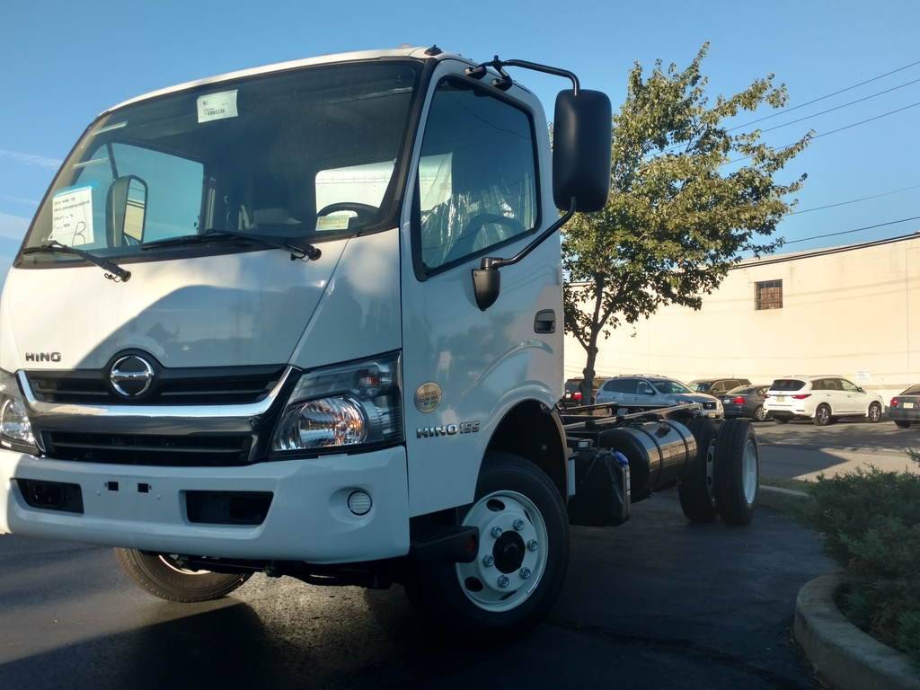 NEW 2018 HINO 155 CAB CHASSIS TRUCK #1022