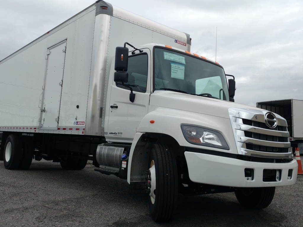 NEW 2018 HINO 268A CAB CHASSIS TRUCK #1036