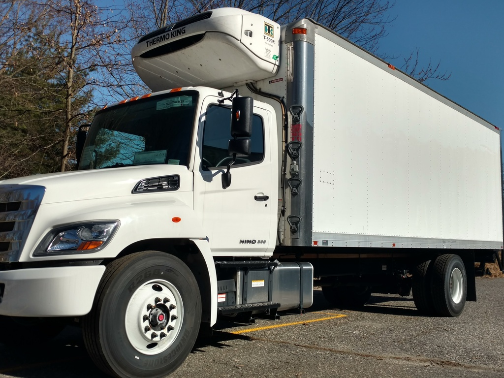 NEW 2018 HINO 268A REEFER TRUCK #1039
