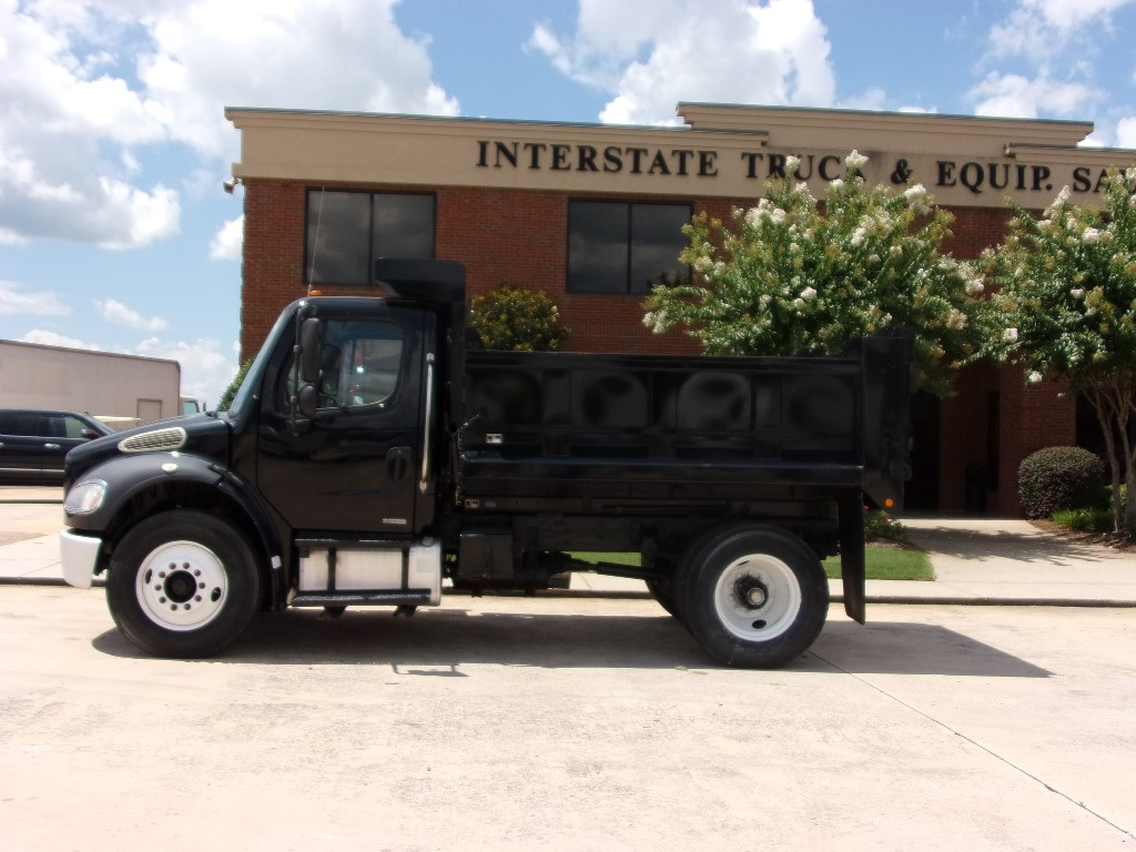 USED 2007 FREIGHTLINER BUSINESS CLASS M2 106 DUMP TRUCK #1749