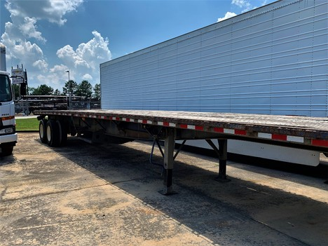 USED 1999 GREAT DANE FLATBED FLATBED TRAILER #1899-2