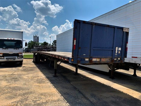 USED 1999 GREAT DANE FLATBED FLATBED TRAILER #1899-3