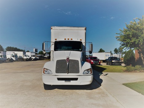USED 2013 KENWORTH T270 NON CDL BOX VAN TRUCK #1912-2