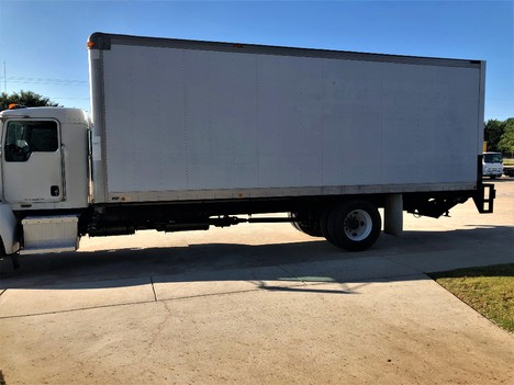 USED 2013 KENWORTH T270 NON CDL BOX VAN TRUCK #1912-3