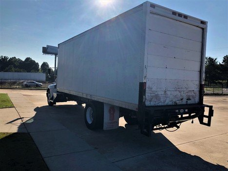 USED 2013 KENWORTH T270 NON CDL BOX VAN TRUCK #1912-4
