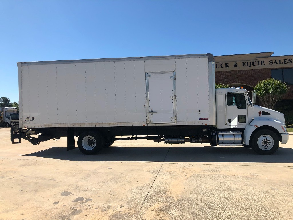 USED 2014 KENWORTH T270 BOX VAN TRUCK #2005