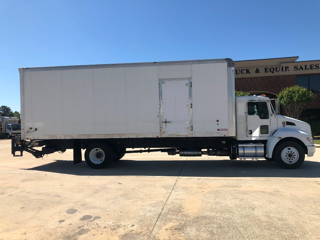 USED 2014 KENWORTH T270 BOX VAN TRUCK #2011