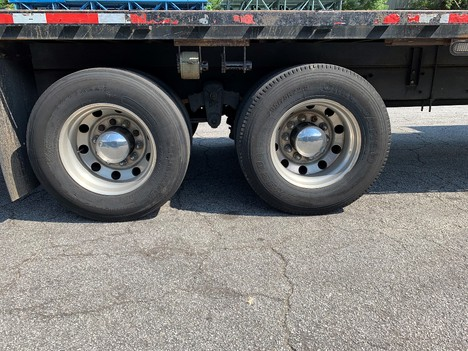 USED 2007 KENWORTH T300 FLATBED TRUCK #2019-24