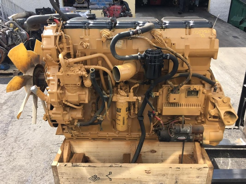 Used C15 Cat Engine: 2006 USED CAT C15 ENGINE FOR SALE