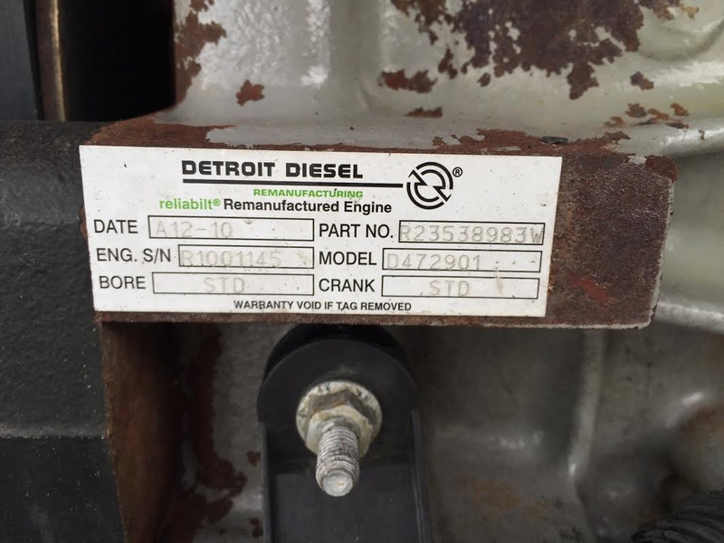 2008 USED DETROIT DD15 ENGINE FOR SALE | #1049