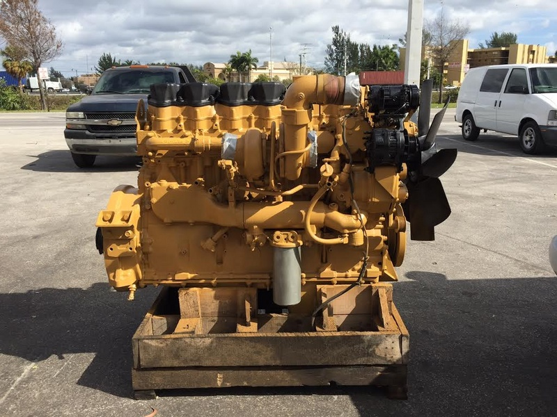 2001 Used Cat C15 6nz Engine For Sale 1080