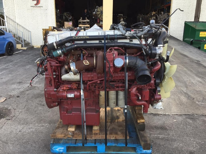 USED 2014 MACK MP10 COMPLETE ENGINE TRUCK PARTS #1093
