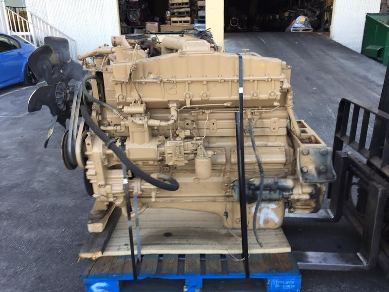 1984 CUMMINS NTC-350 BIG CAM III TRUCK ENGINE FOR SALE #1109