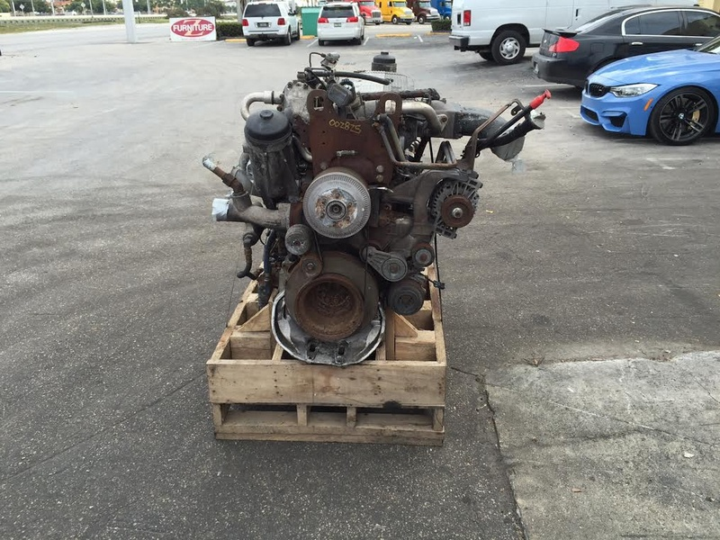2004 USED MERCEDES-BENZ OM460LA MBE4000 ENGINE FOR SALE | #1121