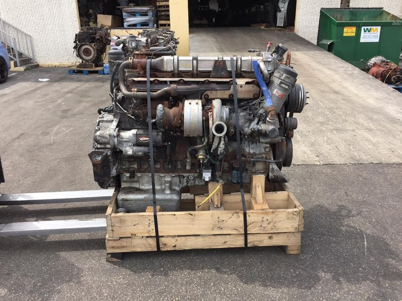 2004 used mercedes benz om460la mbe4000 engine for sale for Mercedes benz rebuilt engines