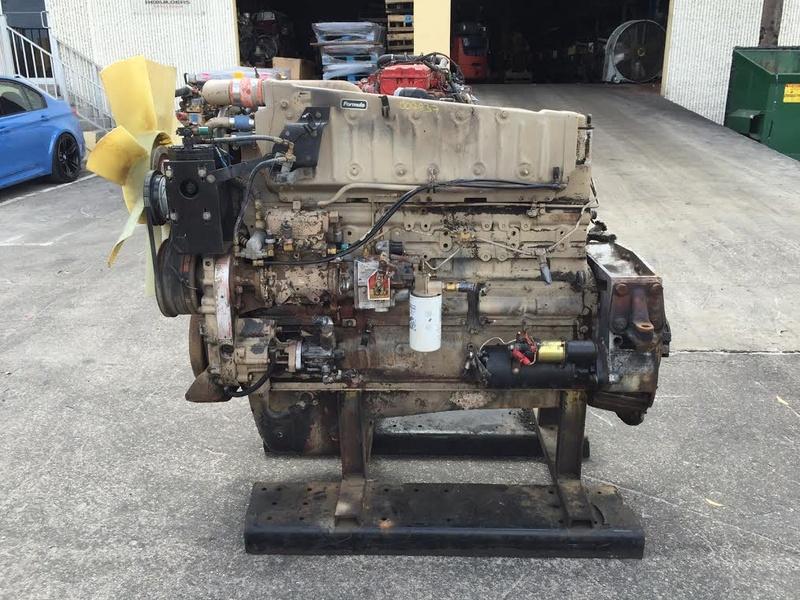 1989 CUMMINS BIG CAM IV NTC 350 855 TRUCK ENGINE FOR SALE 1133