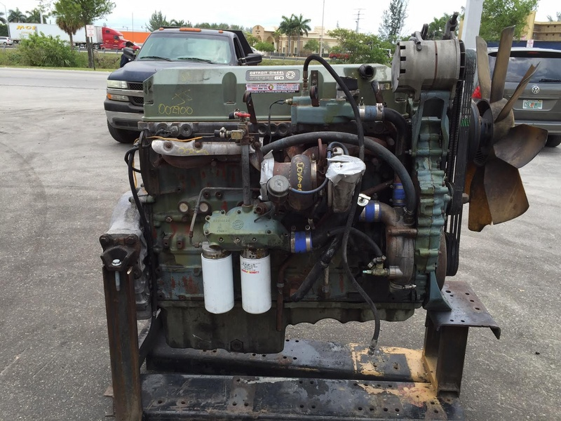Detroit 60 Series >> 1999 Detroit Series 60 12 7 Truck Engine For Sale 1196