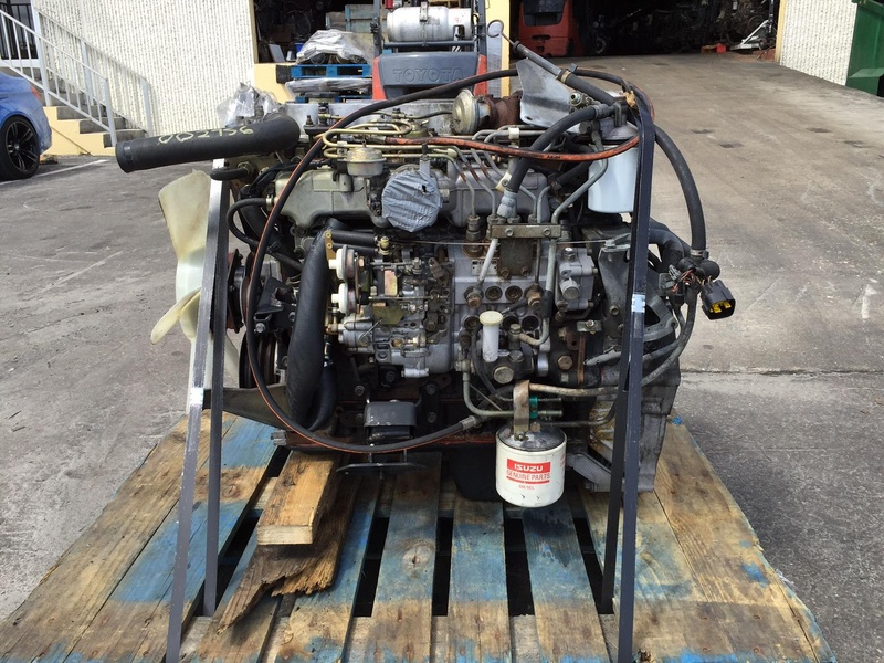 2001 ISUZU 4HE1XS TRUCK ENGINE FOR SALE #1251