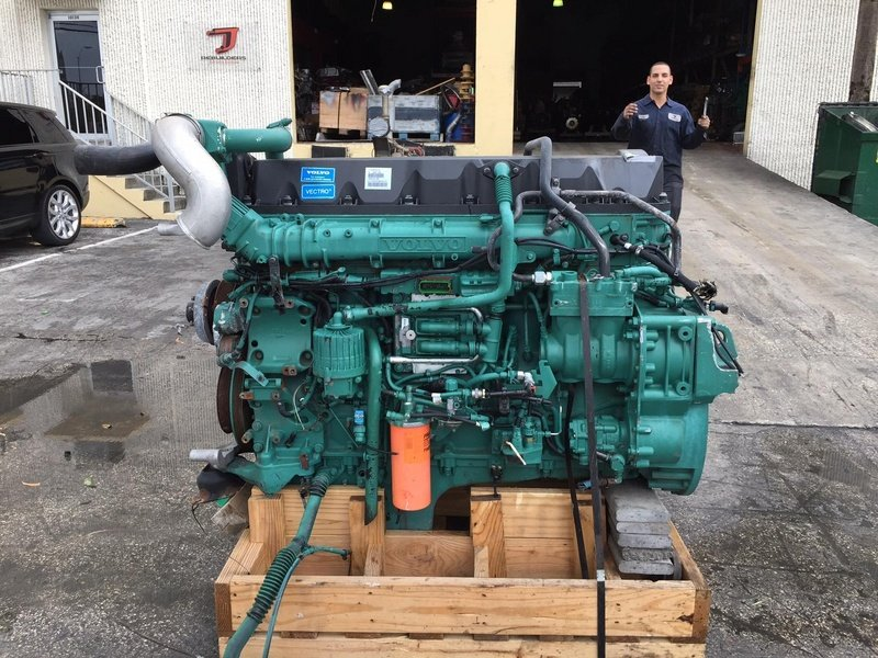 USED VOLVO D13 SEL ENGINES FOR SALE
