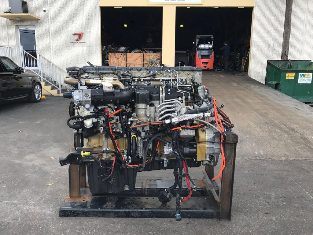 USED 2009 DETROIT DD15 COMPLETE ENGINE TRUCK PARTS #1568