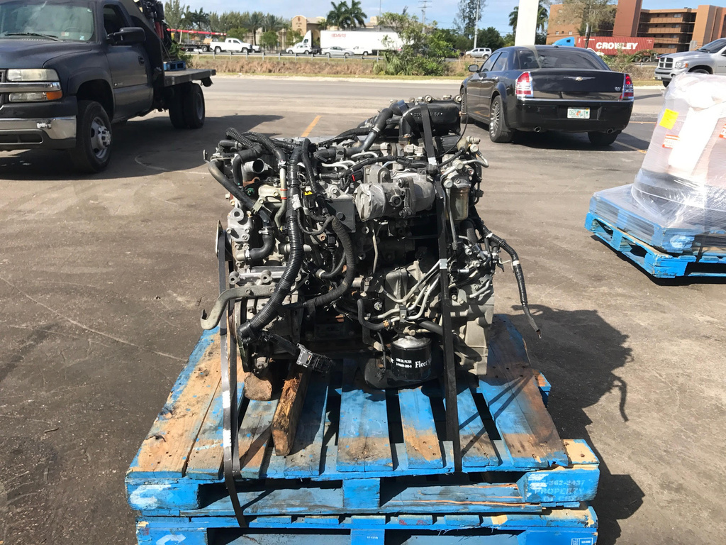 USED 2012 ISUZU 4HK1TC COMPLETE ENGINE TRUCK PARTS #1577